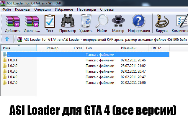 ASI Loader для GTA 4 (все версии)