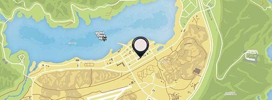 284Где находиться на карте тюрьма в гта 5
